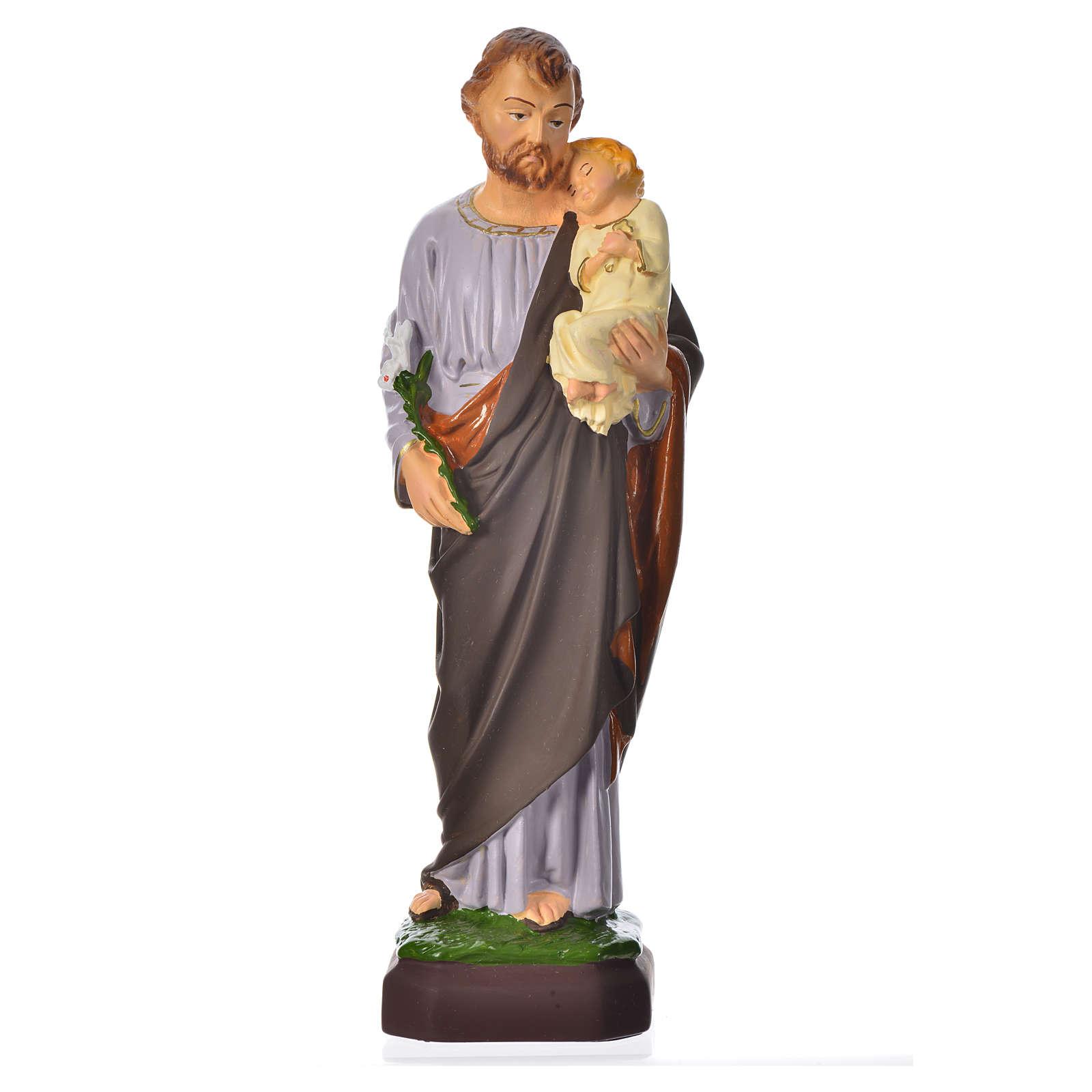 Statue Saint Joseph 30 cm pvc incassable 4