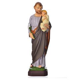 Statues en résine et PVC: Statue Saint Joseph 30 cm pvc incassable