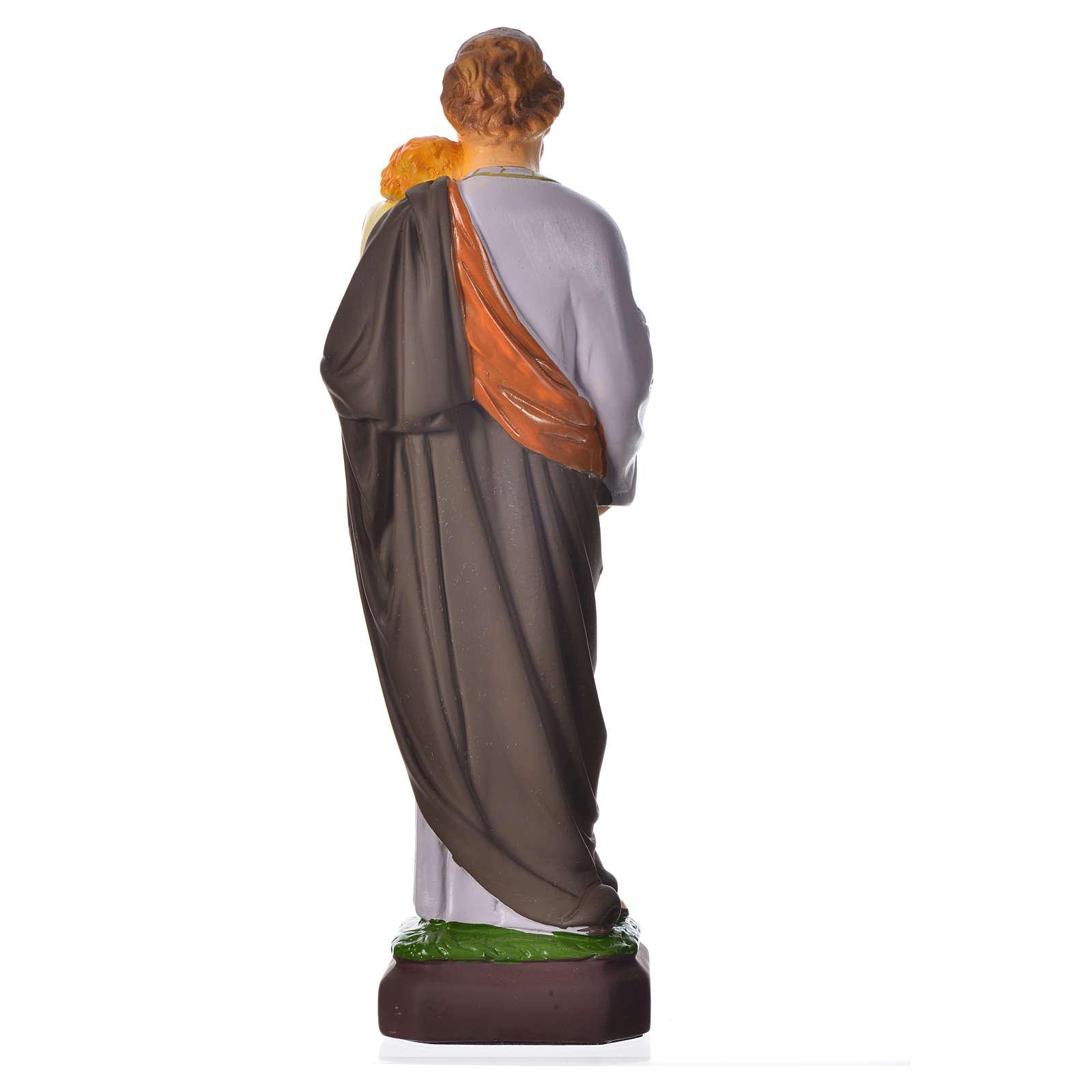 Statua San Giuseppe 30 cm materiale infrangibile 4