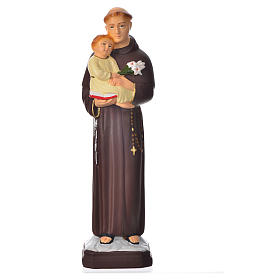 Resin & PVC statues: Saint Anthony of Padua 30cm, unbreakable material