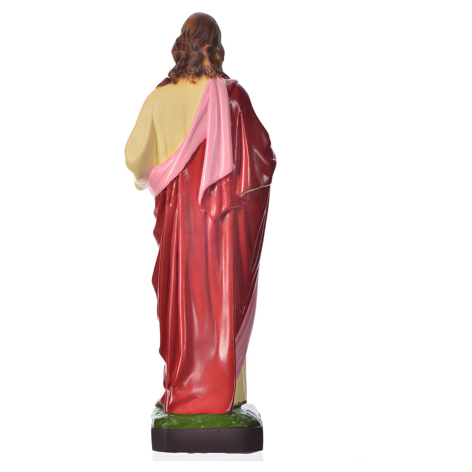 Sagrado Corazón de Jesús 30cm, material irrompible 4