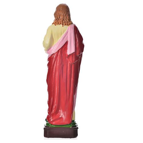 Sacré-Coeur de Jésus en pvc incassable 16 cm 2
