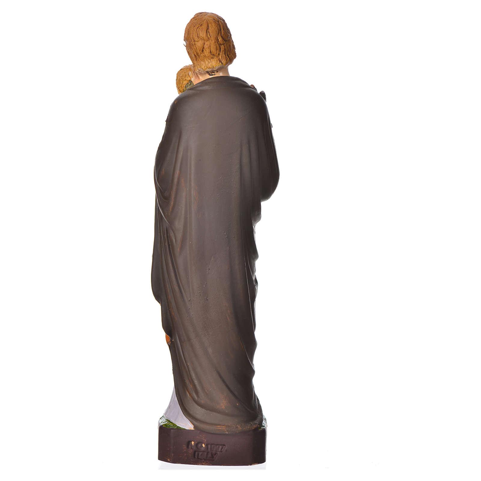 Saint Joseph statue pvc incassable 16 cm 4