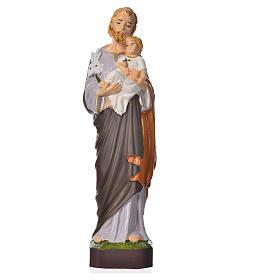 Statues en résine et PVC: Saint Joseph statue pvc incassable 16 cm
