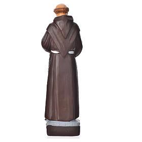 Saint François d'Assise statue pvc incassable 16 cm s2