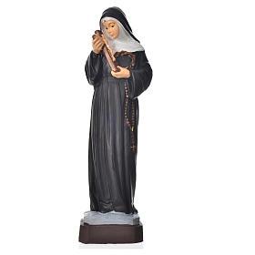 Statues en résine et PVC: Sainte Rita statue pvc incassable 16 cm