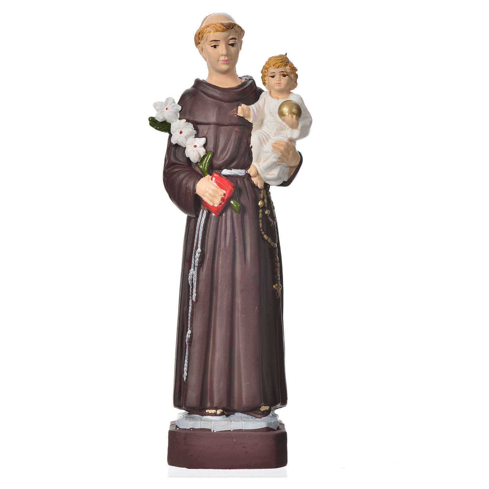 Sant'Antonio 16 cm materiale infrangibile 4