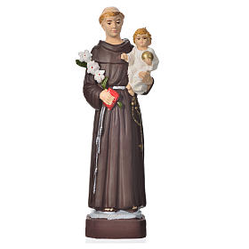 Resin & PVC statues: Saint Anthony 16cm, unbreakable material