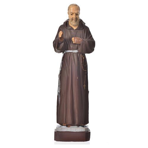 Padre Pio statue pvc incassable 16 cm 1