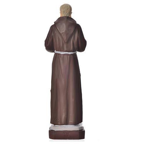 Padre Pio statue pvc incassable 16 cm 2