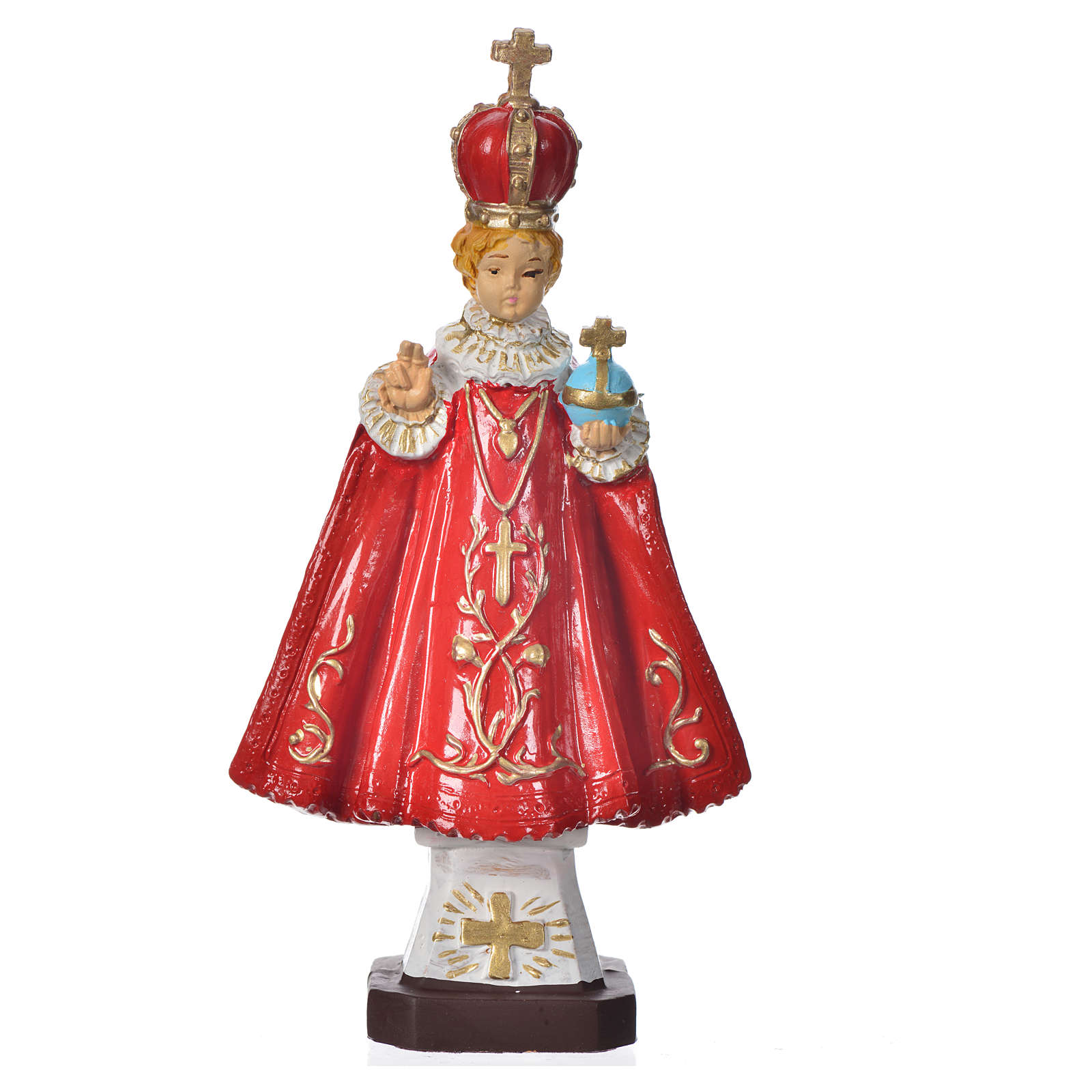 Enfant Jésus de Prague pvc incassable 16 cm 4