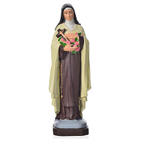 Resin & PVC statues: Saint Therese 20cm, unbreakable material
