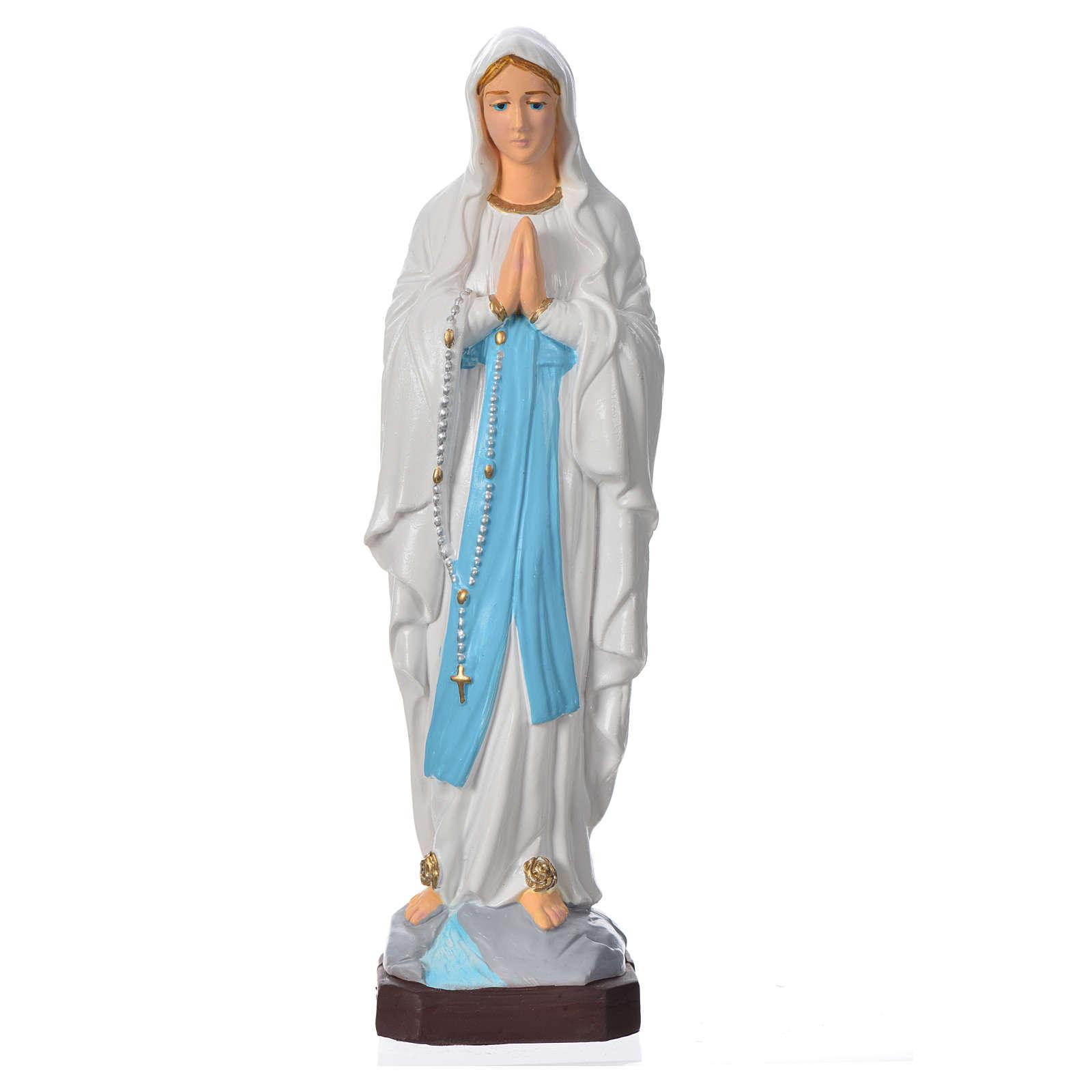 Madonna di Lourdes 20 cm materiale infrangibile 4