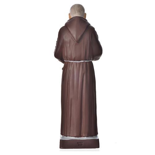 Padre Pio 20 cm pvc incassable 2