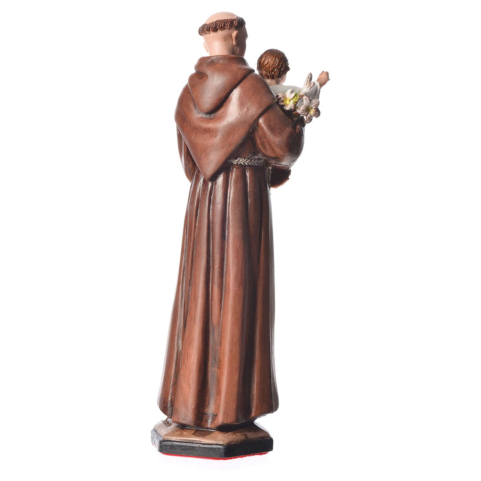 Statua S. Antonio cm 15 Moranduzzo 4