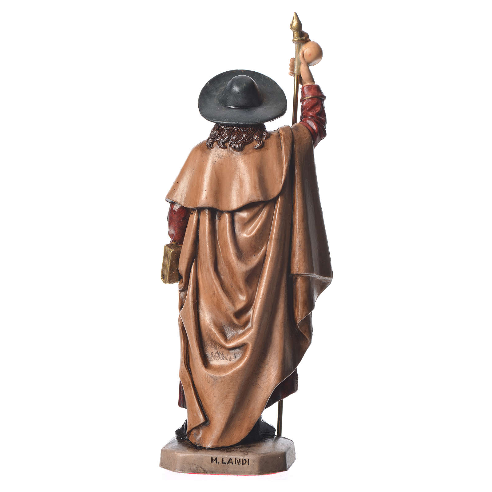 Statue Saint Jacques 15 cm Moranduzzo 4