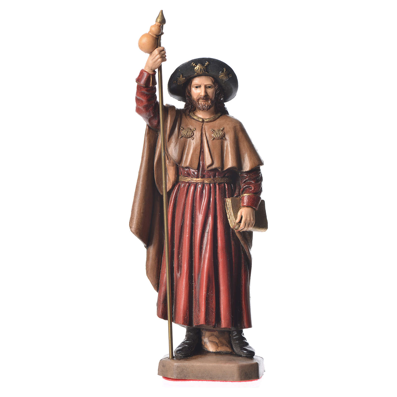 Statua San Giacomo 15 cm Moranduzzo 4