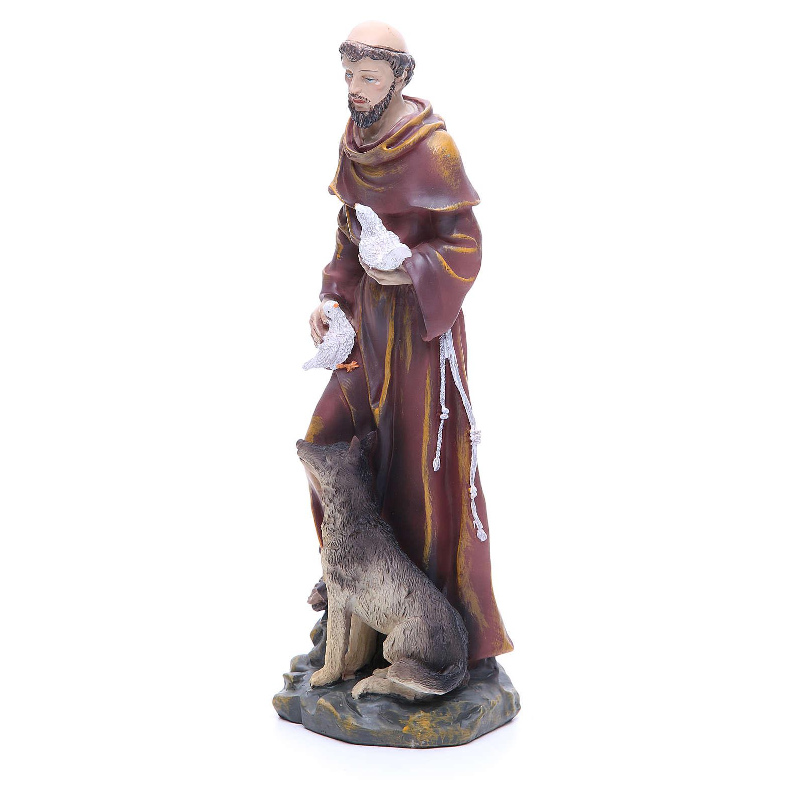 Figurka święty Franciszek 30cm żywica 4