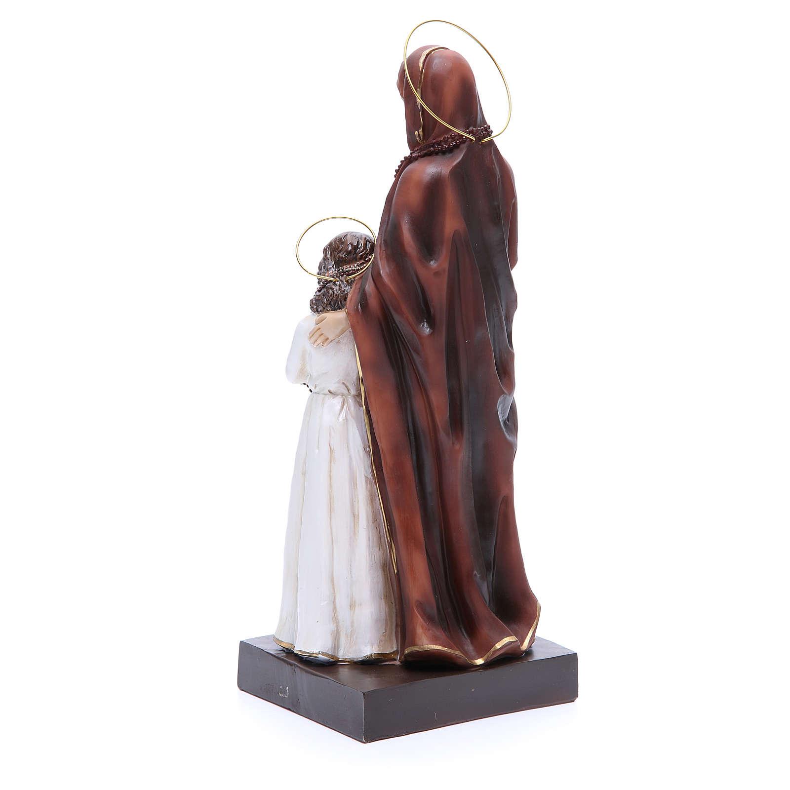 Estatua Santa Ana y María 30,5 cm resina 4