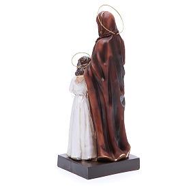Estatua Santa Ana y María 30,5 cm resina s3