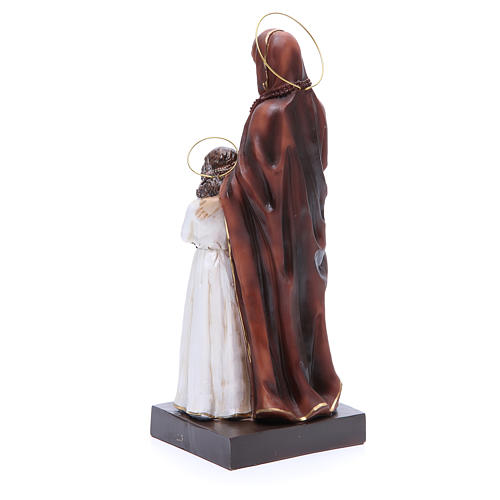 Estatua Santa Ana y María 30,5 cm resina 3
