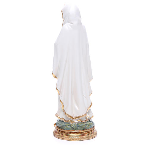 Our Lady of Lourdes resin statue 12.5 inches 3