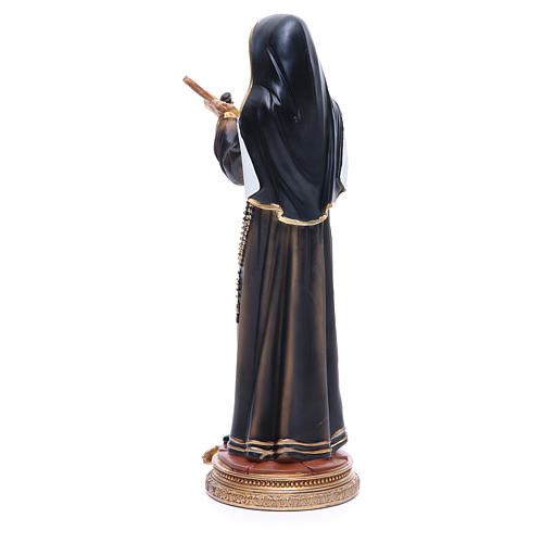 Statue in resin Saint Rita 32 cm 3