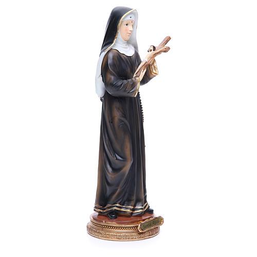 Imagen Santa Rita 32 cm resina 4