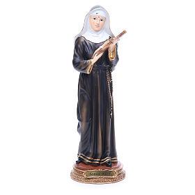 Statua Santa Rita 32 cm resina s1