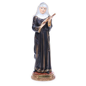 Resin & PVC statues: St Rita of Cascia resin statue 12.5 inches