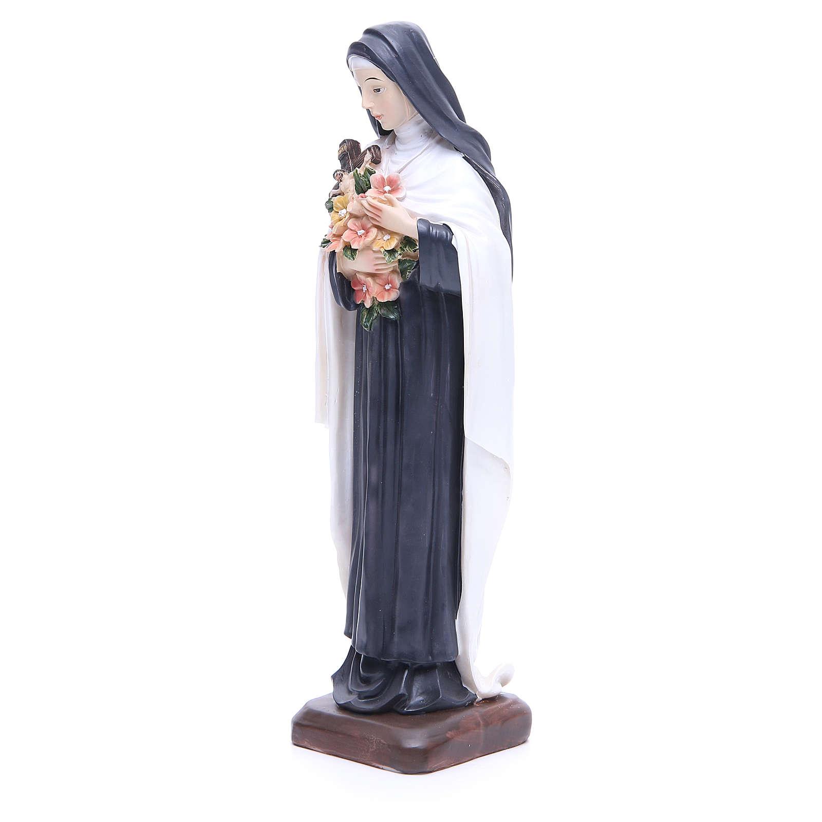 Statua Santa Teresa resina 30 cm 4