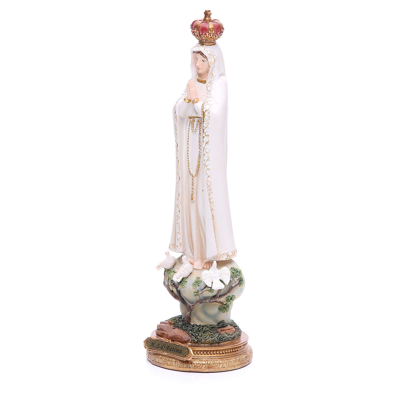 Our Lady of Fatima resin statue 13 inches 4