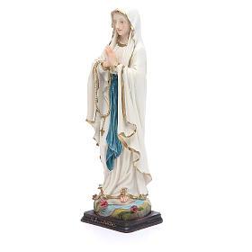 Statua Madonna Lourdes 20,5 cm resina s2