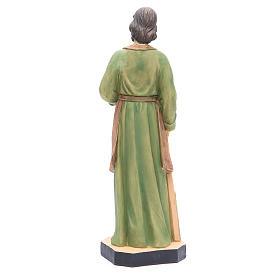Statua San Giuseppe 40 cm resina con base s3