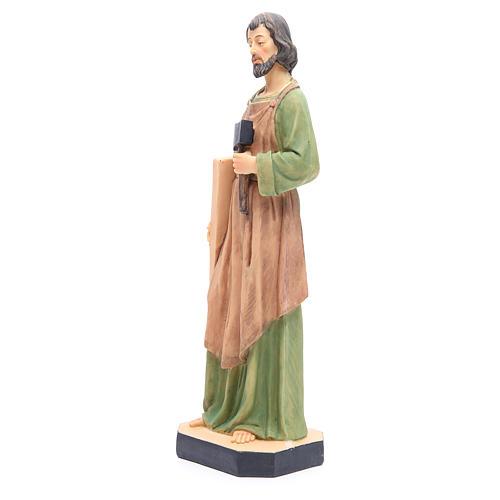 Statua San Giuseppe 40 cm resina con base 2