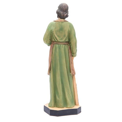 Statua San Giuseppe 40 cm resina con base 3
