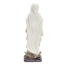 Statua resina Madonna Lourdes 12 cm s2