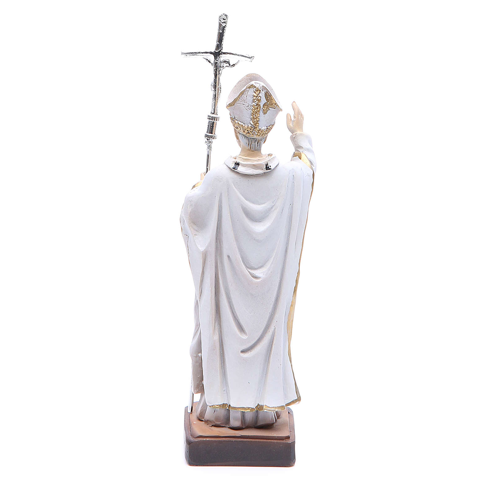 Statua Papa G. Paolo II 13 cm 4