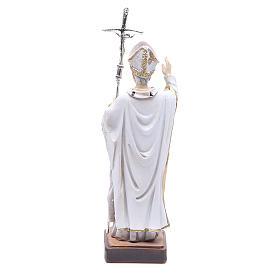 Statua Papa G. Paolo II 13 cm s2