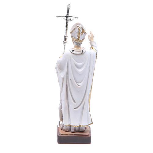 Statua Papa G. Paolo II 13 cm 2