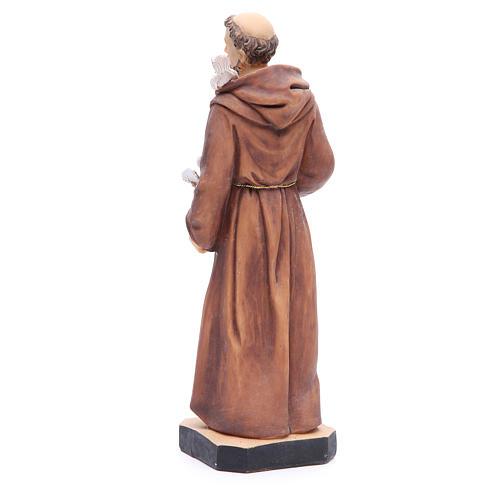 Figurka święty Franciszek 30cm żywica malowana 3