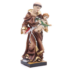 St. Anthony of Padua Statue, 31 cm in resin s4