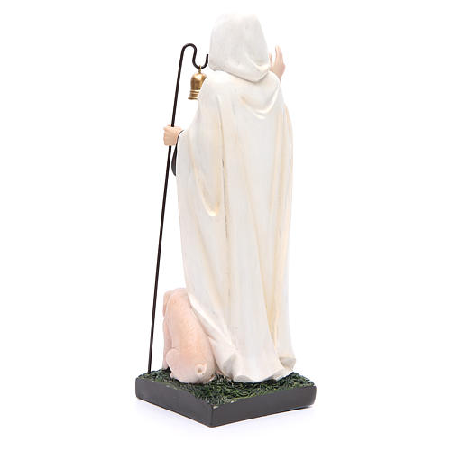 Statua S. Antonio Abate 30 cm resina 3
