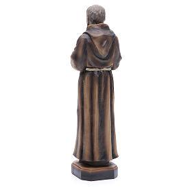 Statua P. Pio da Pietrelcina 30 cm resina s3