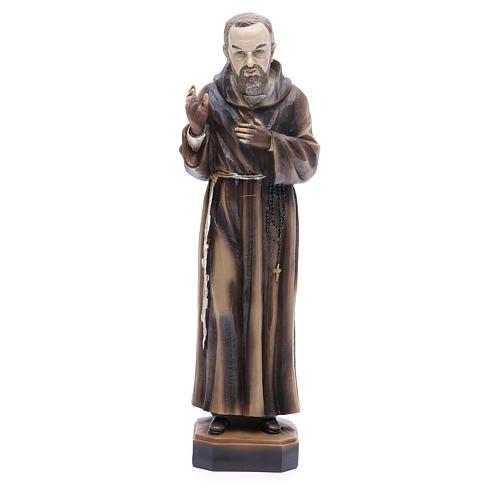 Statua P. Pio da Pietrelcina 30 cm resina 1