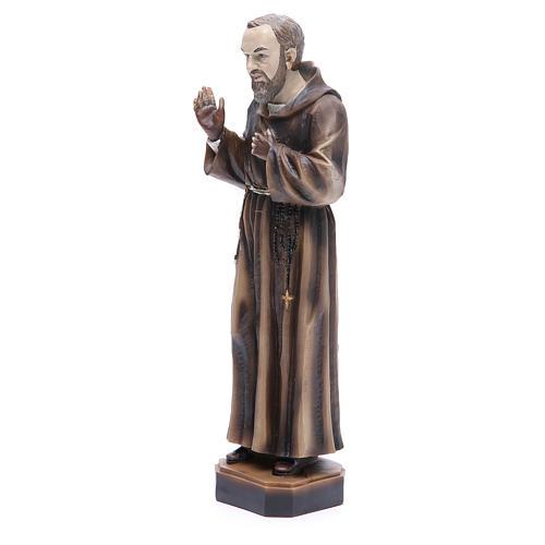 Statua P. Pio da Pietrelcina 30 cm resina 2