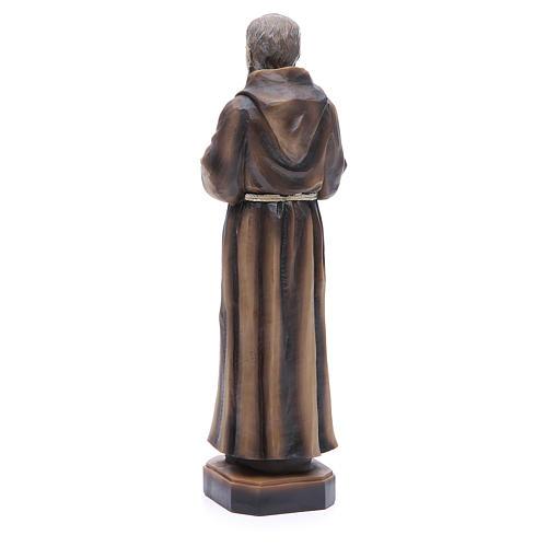 Statua P. Pio da Pietrelcina 30 cm resina 3
