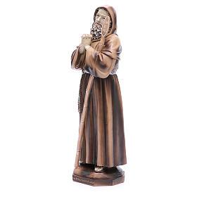 Statue Saint François de Paule 31 cm résine s2