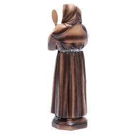 Statue Saint François de Paule 31 cm résine s3