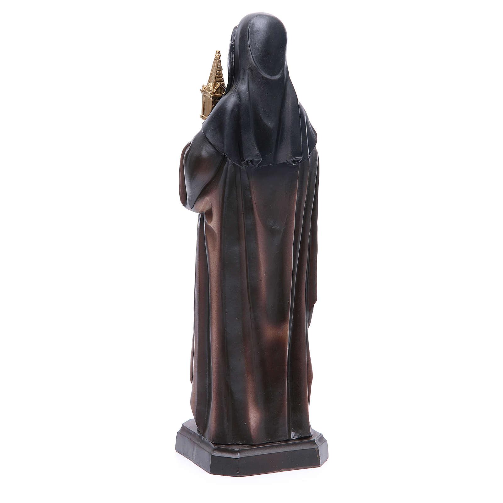 Estatua Santa Clara 31 cm 4